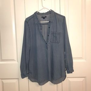 Chambray Old Navy pullover